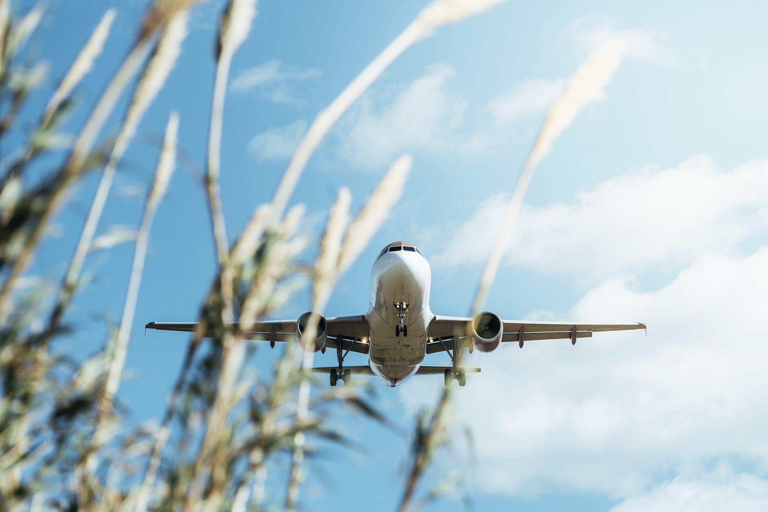 umweltfreundlicheres Flugzeug im Anflug